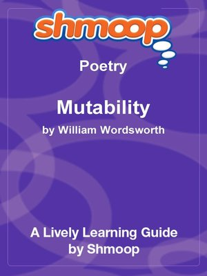 cover image of Mutability