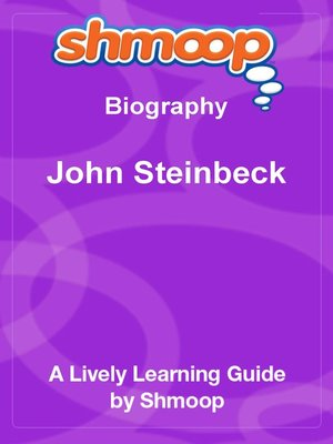 cover image of John Steinbeck