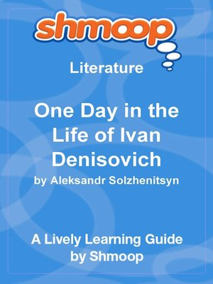 cover image of One Day in the Life of Ivan Denisovich