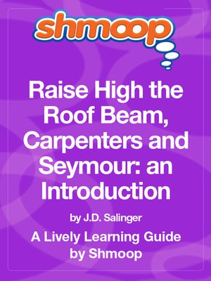 cover image of Raise High the Roof Beam, Carpenters and Seymour: an Introduction