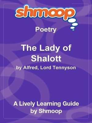 cover image of The Lady of Shalott