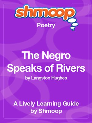 cover image of The Negro Speaks of Rivers