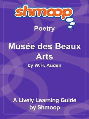 cover image of Musée des Beaux Arts