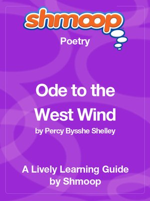cover image of Ode to the West Wind