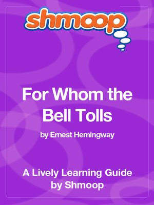 cover image of For Whom the Bell Tolls