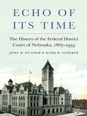 cover image of Echo of Its Time
