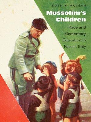 cover image of Mussolini's Children