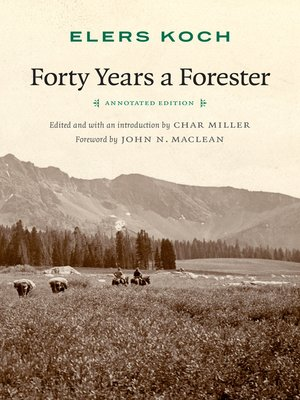 cover image of Forty Years a Forester