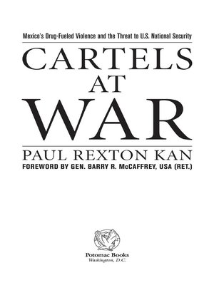 Cartels at war by paul rexton kan overdrive rakuten overdrive cover image fandeluxe Image collections