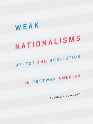 cover image of Weak Nationalisms