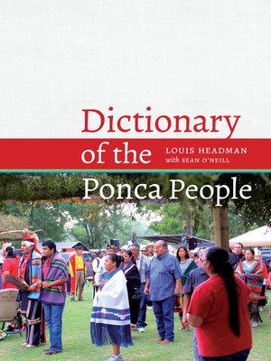 cover image of Dictionary of the Ponca People