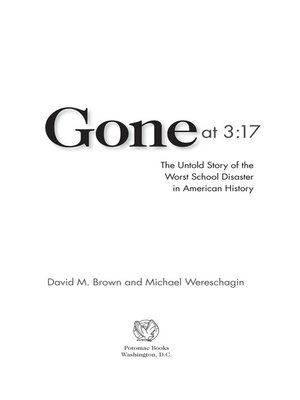 cover image of Gone at 3:17