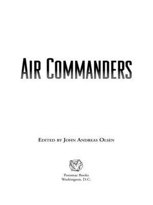 cover image of Air Commanders