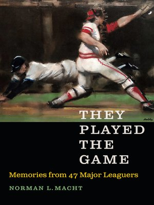 cover image of They Played the Game