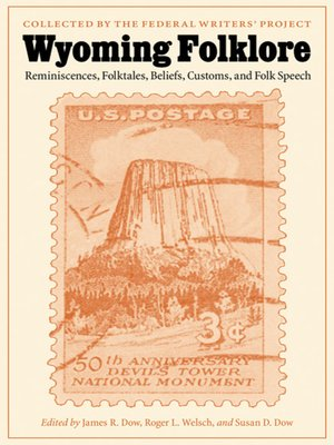 cover image of Wyoming Folklore