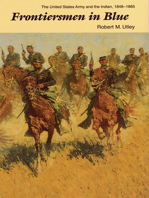 cover image of Frontiersmen in Blue