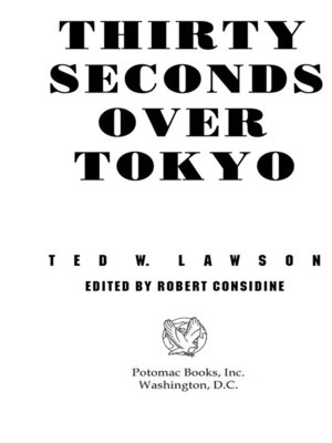 cover image of Thirty Seconds Over Tokyo