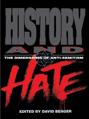 cover image of History and Hate