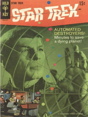 cover image of Star Trek, Volume 1, Issue 3