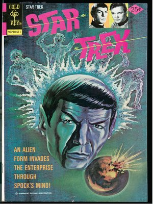 cover image of Star Trek, Volume 1, Issue 4
