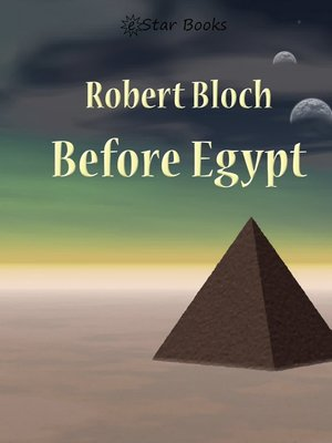 cover image of Before Egypt