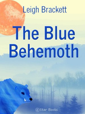 cover image of The Blue Behemoth