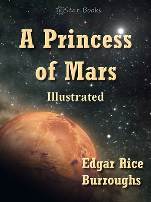 cover image of A Princess of Mars Illustrated