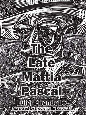 cover image of The Late Mattia Pascal