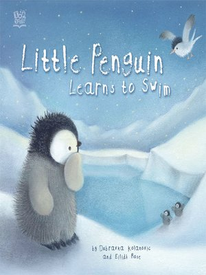 cover image of Little Penguin Learns To Swim