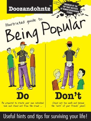 cover image of Illustrated Guide to Being Popular