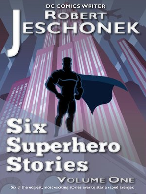 cover image of Six Superhero Stories