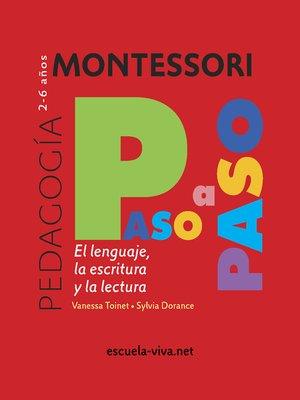 cover image of El lenguaje. Montessori Paso a Paso