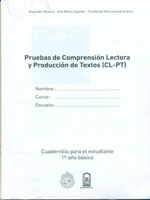 cover image of Cuadernillos (CL-PT) 1º Año Básico