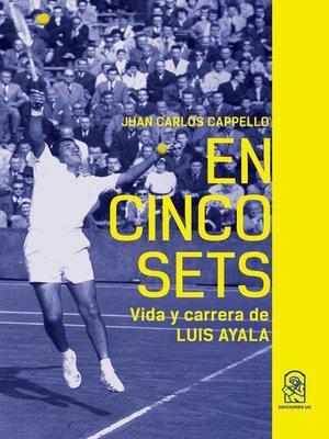 cover image of En cinco sets