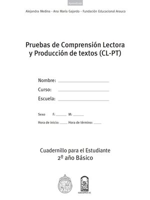 cover image of Cuadernillos (CL-PT) 2º Año Básico