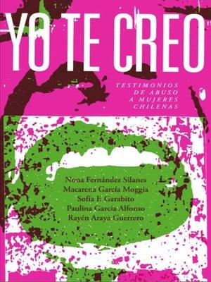 cover image of Yo te creo