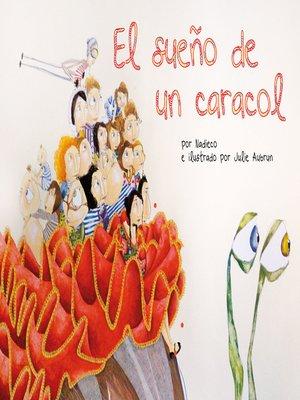 cover image of El sueño de un caracol