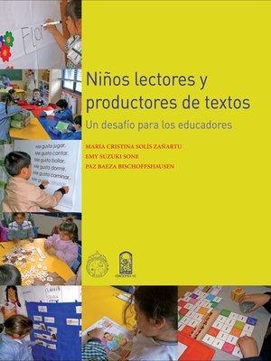 cover image of Niños lectores y productores de textos
