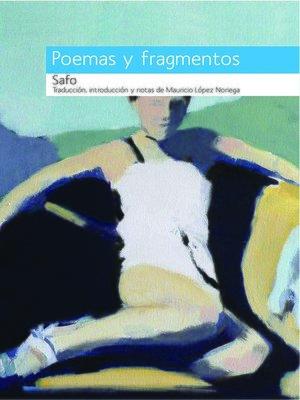 cover image of Safo, Poemas y fragmentos