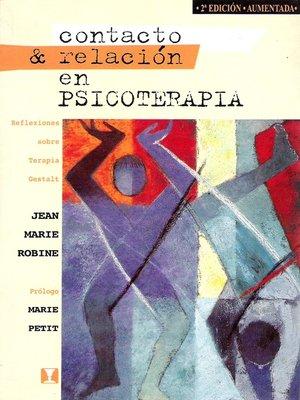 cover image of Contacto & Relación en Psicoterapia