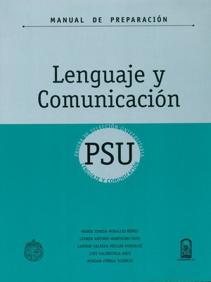 cover image of Manual de Preparación PSU