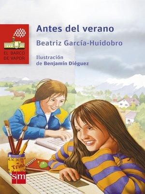 cover image of Antes del verano