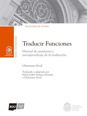 cover image of Traducir funciones