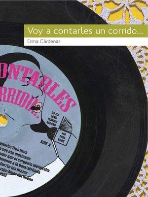 cover image of Voy a contarles un corrido