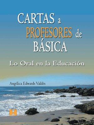 cover image of Cartas a Profesores de Básica