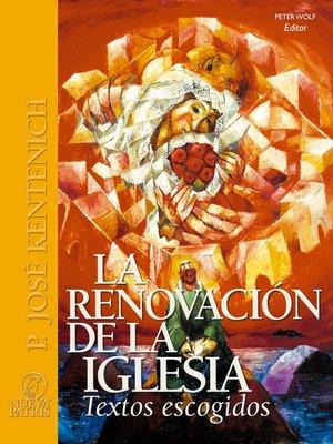 cover image of La Renovación de la Iglesia
