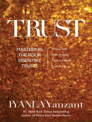 Iyanla vanzant overdrive rakuten overdrive ebooks audiobooks cover image of trust fandeluxe Image collections