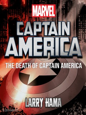 cover image of The Death of Captain America