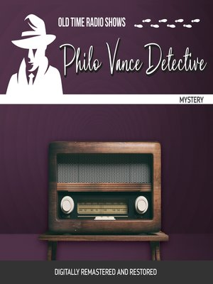 cover image of Philo Vance Detective