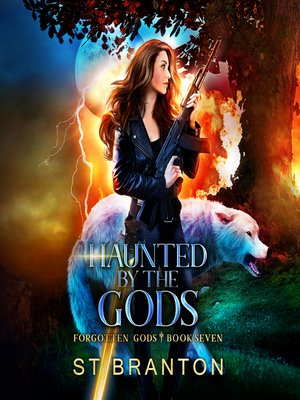 cover image of Haunted by the Gods